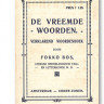 De vreemde woorden