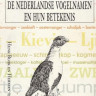 Nederlandse vogelnamen