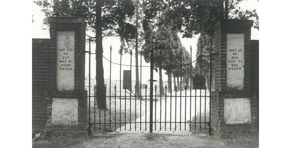 Toegangshek van de R.K. begraafplaats te Coevorden